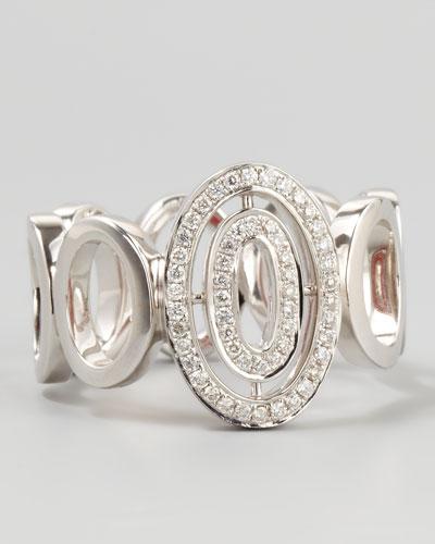 Ivanka Trump Signature Oval-Diamond Small Band Ring, Sz 6