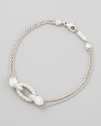 Serpent Boheme 18k White Gold Small Bracelet