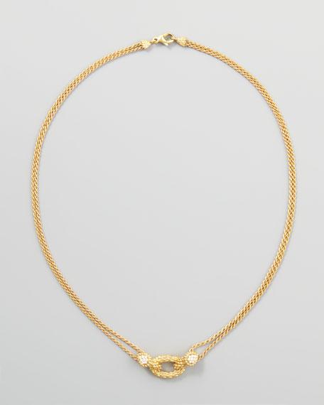 "Serpent Boheme 18k Yellow Gold Necklace, 16""L"