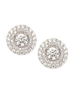 Forevermark Maria Canale for Forevermark Petite Deco Treasures Luna Stud Earrings, 3.02 TCW, F-G/VS2-SI1
