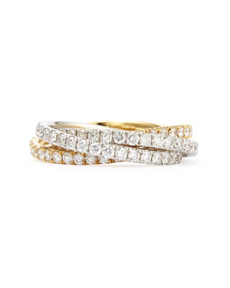 Maria Canale for Forevermark Diamond Rolling Ring