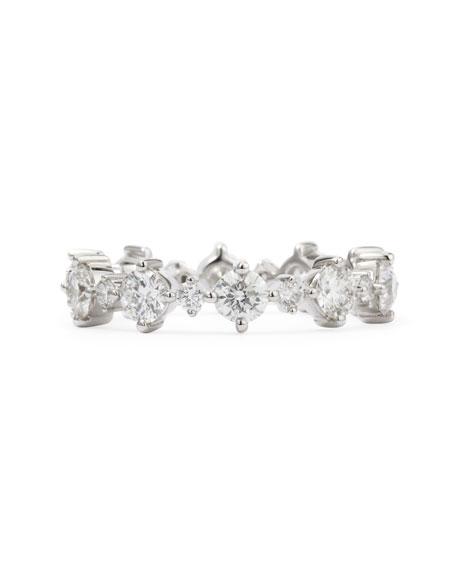 Anniversary Collection Round Diamond Band Ring, F-E/VS1; 1.57 TCW