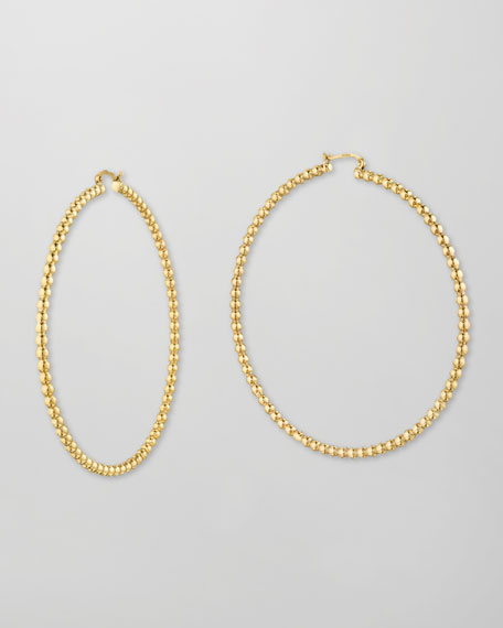 Bollicine 18k Gold Hoop Earrings