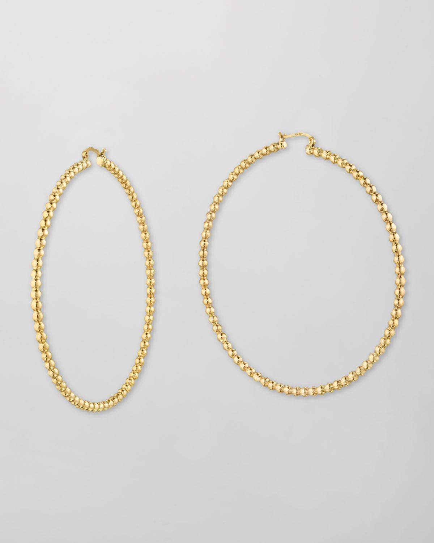Bollicine 18k Gold Hoop Earrings