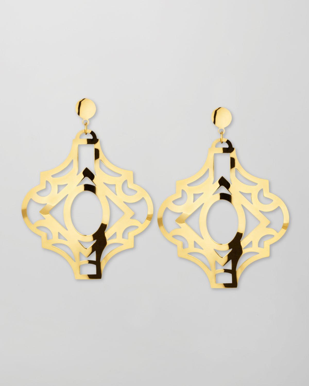 Modica 18k Gold Earrings
