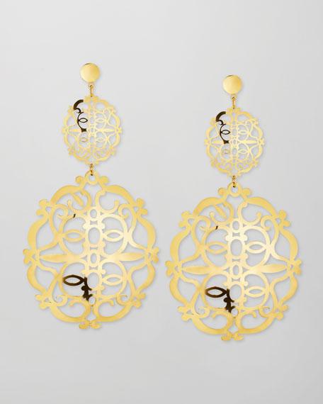 Noto 2 18k Gold Earrings