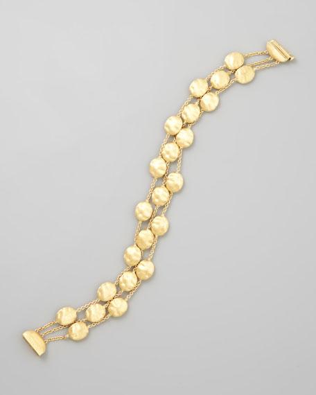Siviglia 18k Gold 3-Strand Large-Bead Bracelet