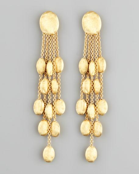 Siviglia 18k Gold 5-Strand Drop Earrings