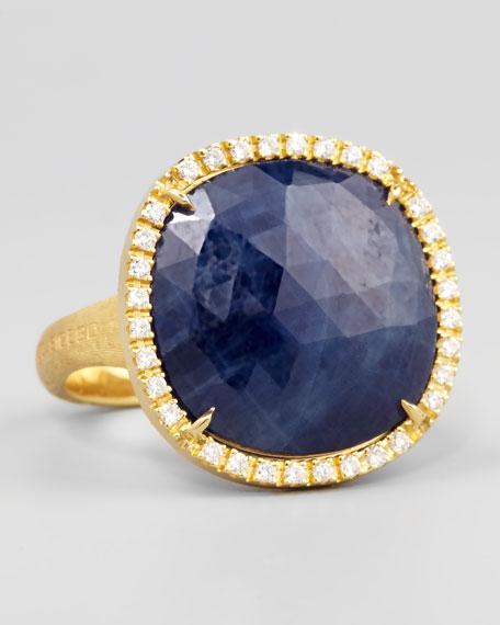 Siviglia 18k Blue Sapphire Ring, Large