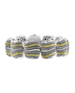 Lagos Soiree Diamond Beaded Bracelet