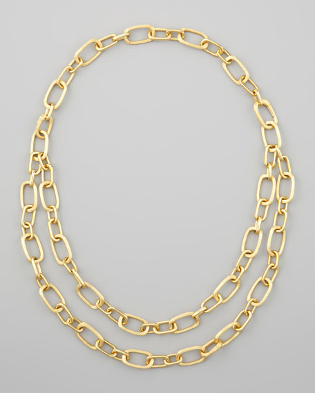 Murano 18k Convertible Double-Strand Necklace
