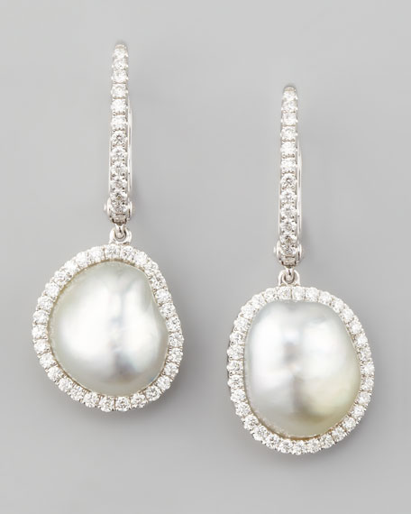 Eli Jewels White South Sea Pearl & Diamond