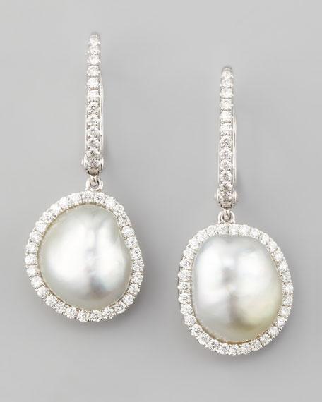 Eli Jewels White South Sea Pearl & Diamond