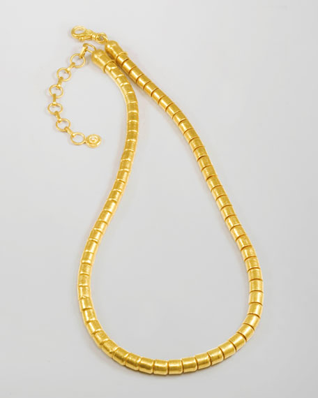 Gurhan Vertigo 24k Gold Single-Strand Necklace