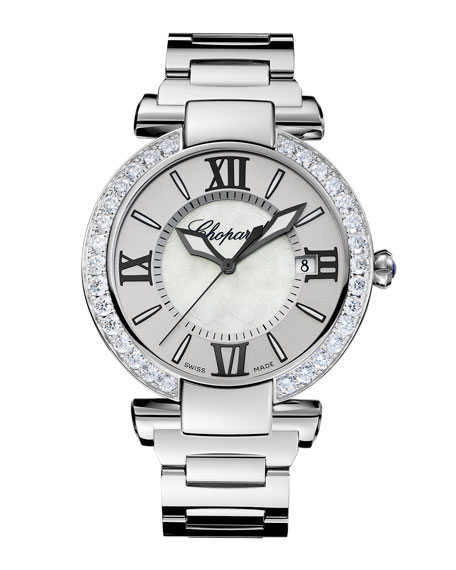 Imperiale 40mm Diamond Bezel Bracelet Watch