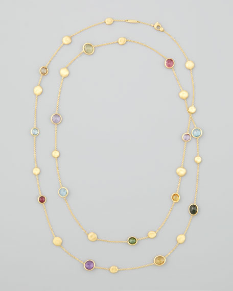 Marco Bicego Jaipur Color Semiprecious Station Necklace, 48