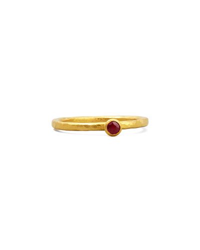 Gurhan Gurhan Skittle Ruby Ring