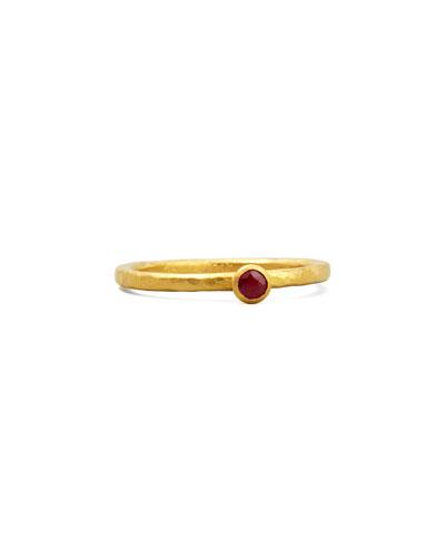Gurhan Skittle Ruby Ring