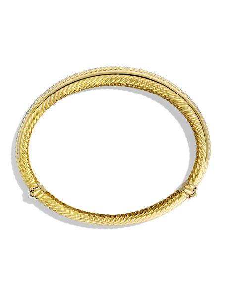 Lantana Bracelet with Diamonds in Gold