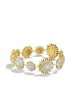 David Yurman Starburst Bracelet with Diamonds
