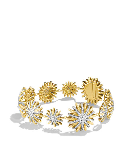 Starburst Bracelet with Diamonds