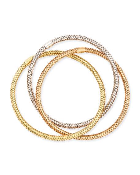 5mm Primavera 18k Mixed Gold Bracelet