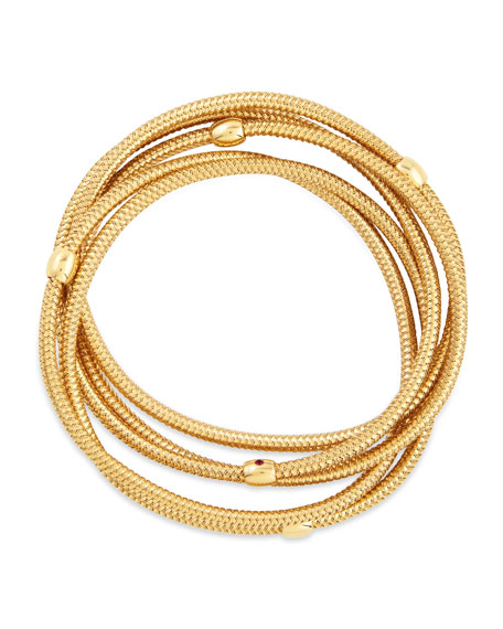 Primavera 18k Yellow Gold 5-Strand Bracelet