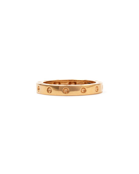 18k Pois Moi Ring, Rose Gold, Size 7.5