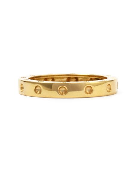 18k Pois Moi Ring, Yellow Gold, Size 7.5