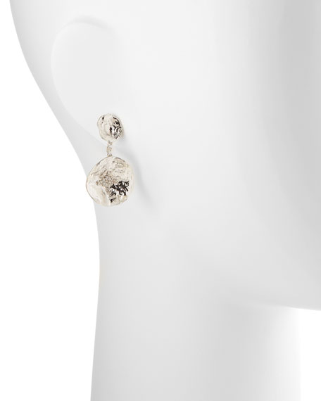 Serenity Double-Flower Diamond Earrings