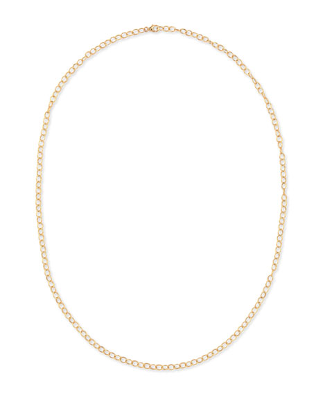 Syna 18k Yellow Gold Oval-Link Chain Necklace