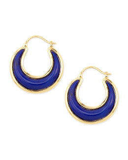 Syna Luna 18k Lapis Lazuli Earrings