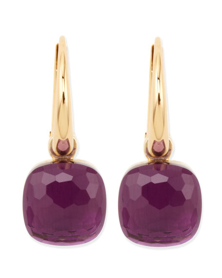 Nudo 18k Gold Amethyst Earrings