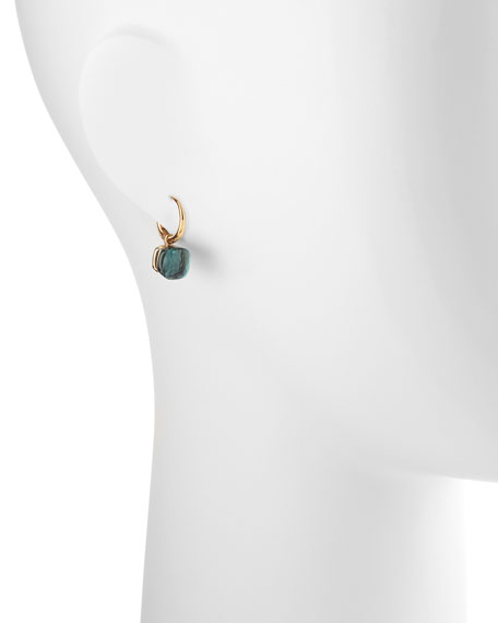 Nudo Small 18k Blue Topaz Earrings