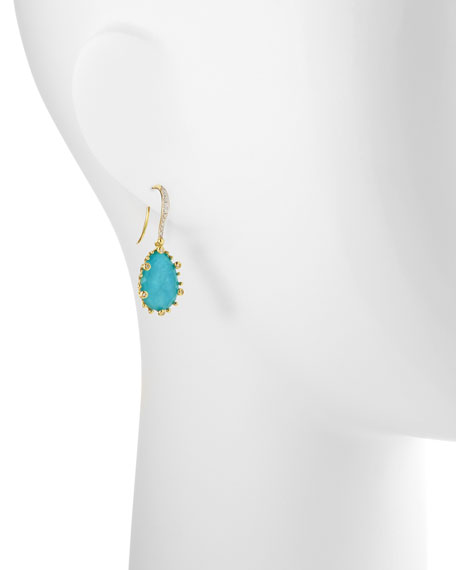 Tivoli Turquoise & Diamond Earrings