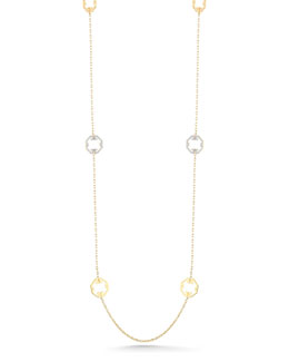 "Ivanka Trump Metropolis 18k Octagonal Station Necklace, 36""L"