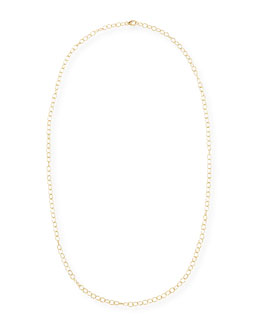 Syna Mogul 18k Yellow Gold Cable Chain Necklace, 30""