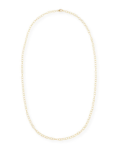 Mogul 18k Yellow Gold Cable Chain Necklace, 30""