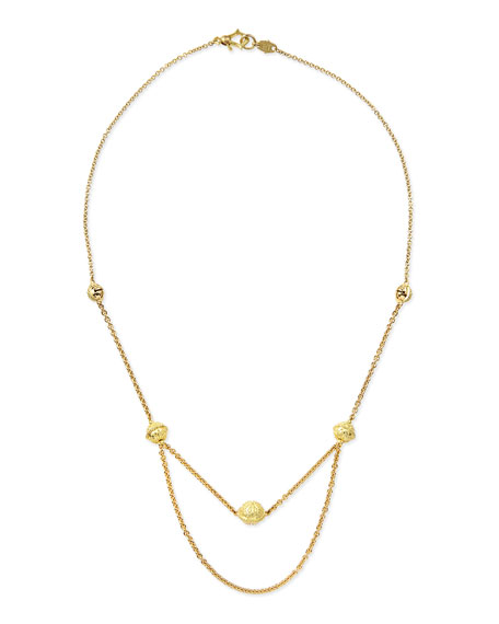 Paul Morelli Small 18k Meditation Bell Choker Necklace