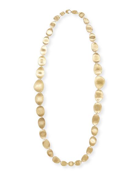 "Lunaria 18k Gold Necklace, 36""L"