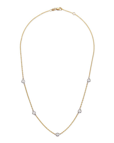 Rina Limor 18k Yellow Gold & Diamond Necklace