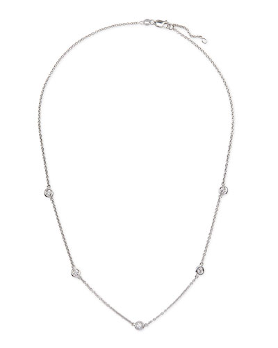 Rina Limor 18k White Gold & Diamond Necklace