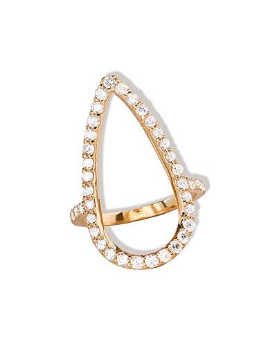 LANA Fatale Diamond Crush Ring