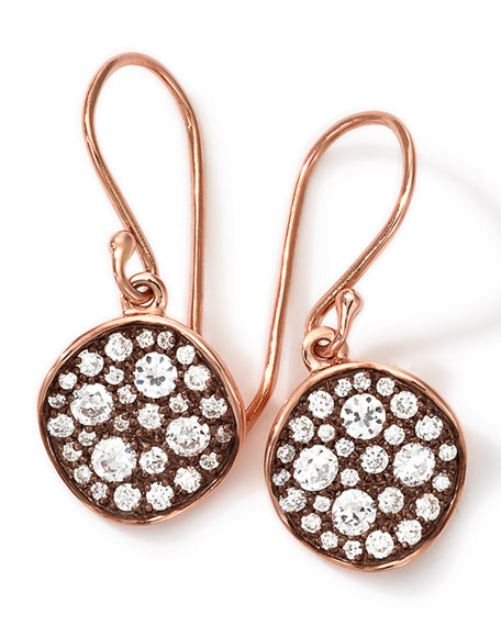 Ippolita 18k Rose Gold Stardust Flower Mini Diamond