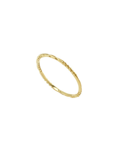 Lagos 18k Gold Caviar 4-Station Stackable Ring
