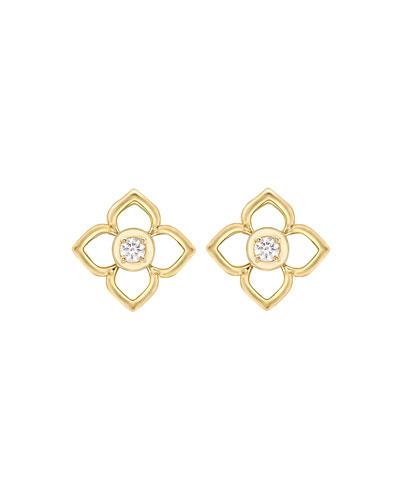 Aurora Diamond Stud Earrings