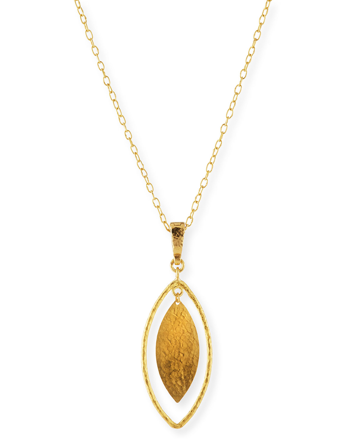 Gurhan willow geo 24k gold pendant necklace neiman marcus willow geo 24k gold pendant necklace aloadofball Images