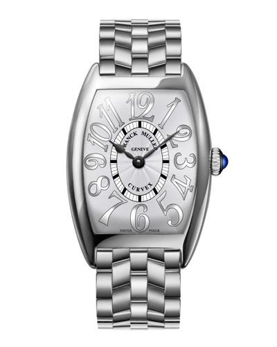 Ladies Curvex Stainless Steel Watch