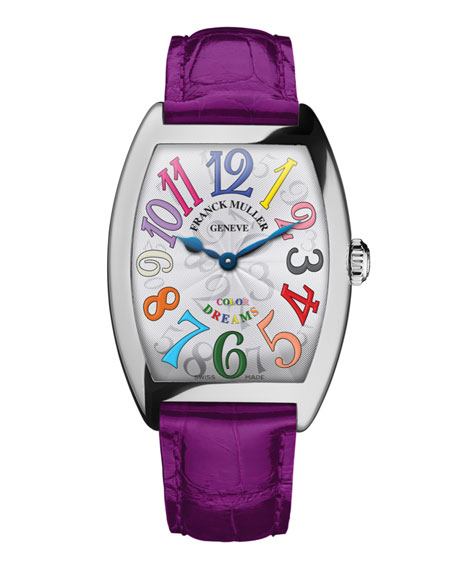 Franck Muller Ladies Color Dreams Curvex Watch with