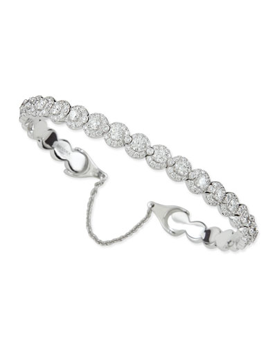 Joy Diamond Halo Bracelet with Chain